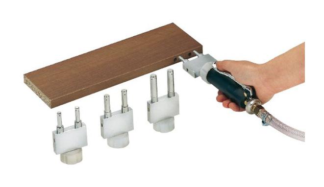 Tryska pre kolíkový spoj dvojitá, 8 x 25 mm, rozteč 32 mm