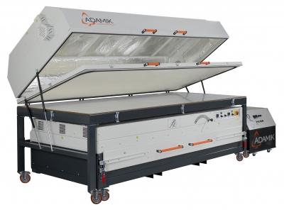 Nahrievacia pec s membránovým lisom ADAMIK Combiformer Plus XL