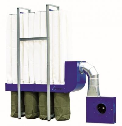 Odsávač pilín ADAMIK FT 650 A 7,5 kW