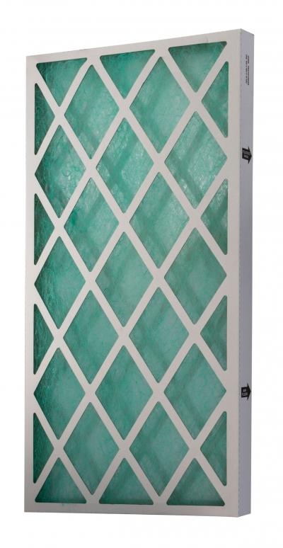 Filter pre striekaciu stenu, sklené vlákno